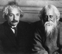 Эйнштейн и Тагор
