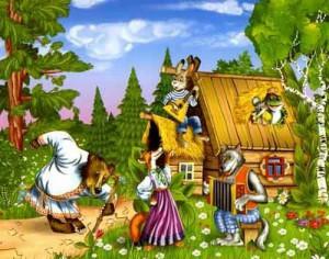 Русские народные сказки. Читать онлайн.